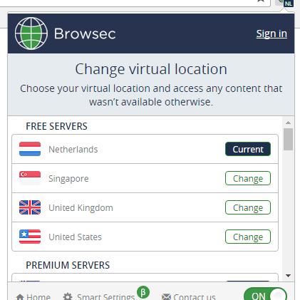 обход блокировок browsec