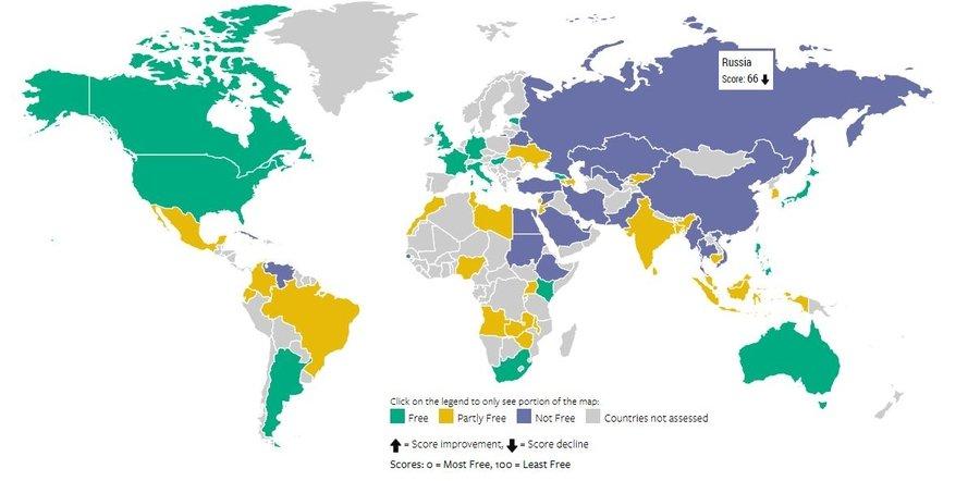 свобода интернет