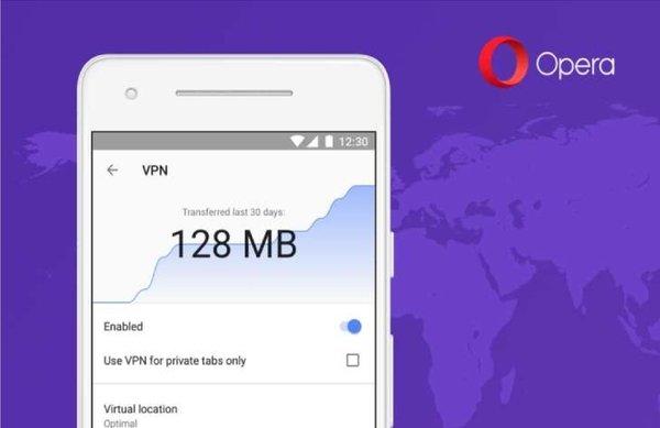 Opera вернет VPN в браузер для Android