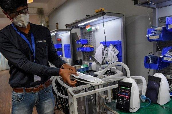 В Индии создали аппарат искусственной вентиляции лёгких размером с тостер