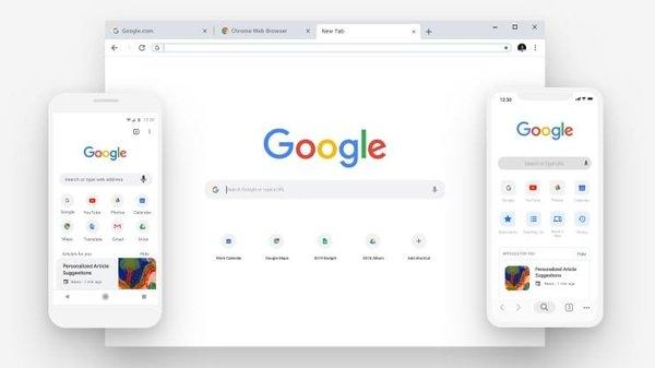Google анонсировала новый дизайн браузера Google Chrome