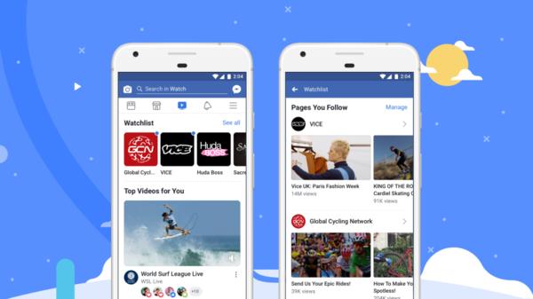 В сентябре видеосервис Facebook Watch станет доступным в России