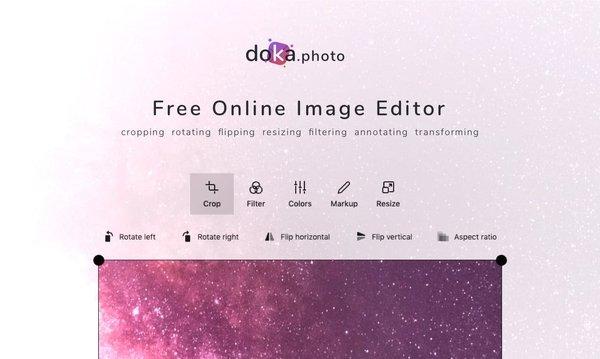 Doka.Photo – бесплатный и удобный фоторедактор