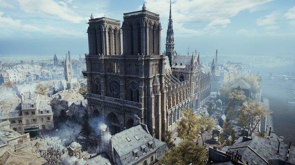 Assassin's Creed Uni от Ubisoft стала бесплатной на неделю