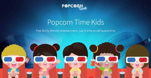Пиратский кинотеатр Popcorn Time ввел детский режим