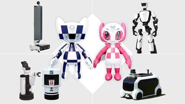 Роботы примут участие в Олимпийских играх в Токио