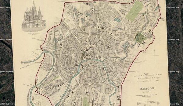 В Google Maps появились карты старинных городов