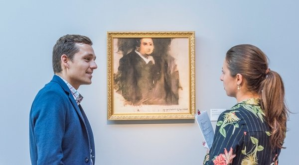 Созданный нейросетью портрет продали за 30 млн рублей
