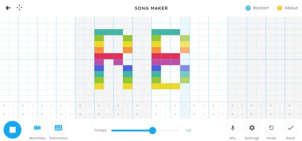 Google запустила онлайн-сервис Song Maker для записи мелодий