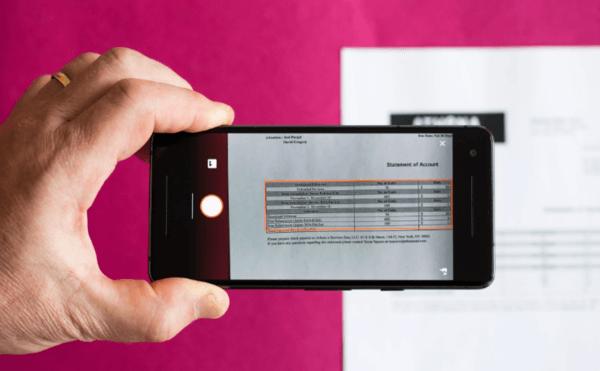 Как с помощью фото перенести таблицу c документа в Excel?